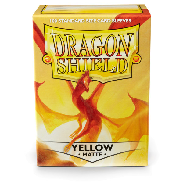 Dragon Shield: Matte Yellow (100)