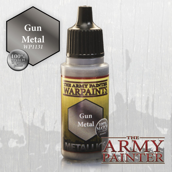 Army Painter Paint: Gun Metal