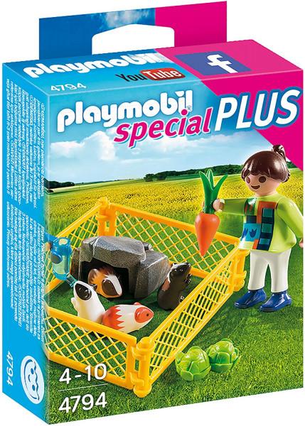 Playmobil 4794 - Mädchen mit Meerschweinchen