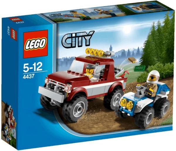 LEGO City Verfolgung im Gelände (4437)