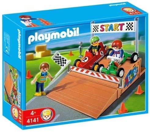 Playmobil 4141 - Kompakt-Set Gokart-Rennen