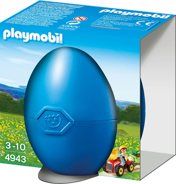 Playmobil 4943 - Junge mit Kindertraktor