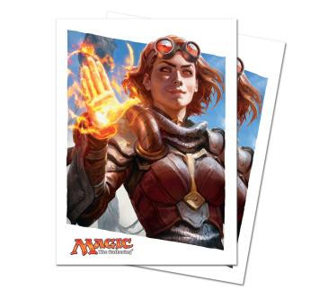 Oath of the Gatewatch Oath of Chandra Standard Deck Protectors for Magic 80ct