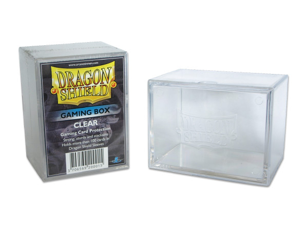 Dragon Shield: Gaming Box 100+ (Klar)