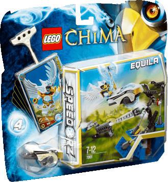LEGO Legends of Chima - Speedorz Scheibenschiessen (70101)