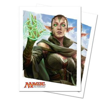 Oath of the Gatewatch Oath of Nissa Standard Deck Protectors for Magic 80ct