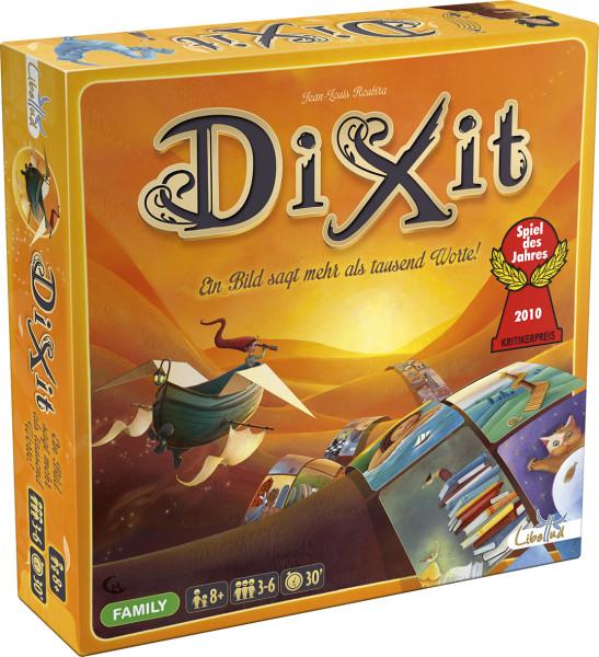 """Dixit Grundspel """"Spiel des Jahres 2010"""""""