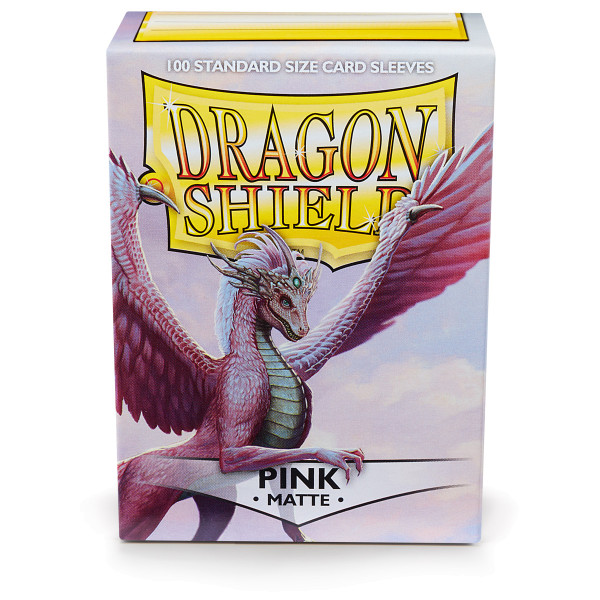 Dragon Shield Matte: Pink (100 Stück)