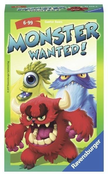 Monster Wanted! - Mitbringspiel
