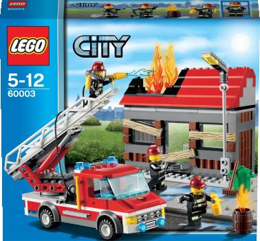 LEGO City - Feuerwehreinsatz (60003)