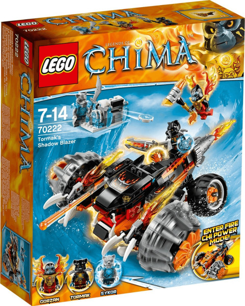 LEGO Legends of Chima - Tormaks Schattenwerfer (70222)