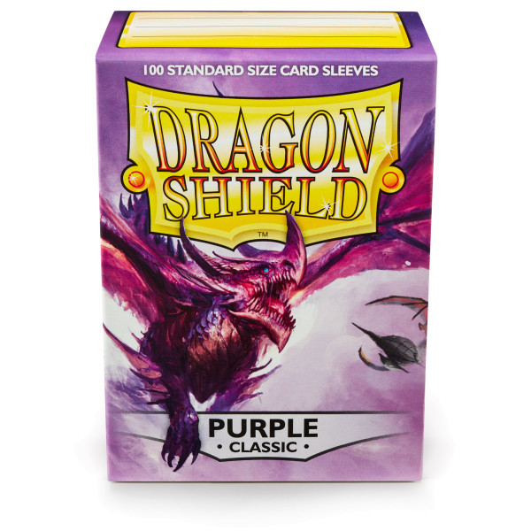 Dragon Shield: Lila (100 Stück)