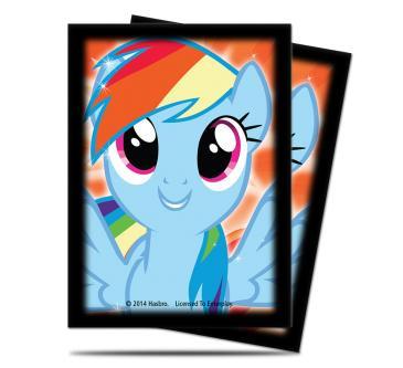 My Little Pony Rainbow Dash Deck Protector Sleeves - 65ct