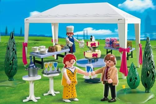 Playmobil 4308 - Hochzeitsgäste im Partyzelt