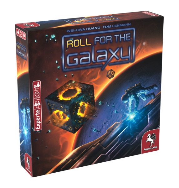Roll for the Galaxy (deutsche Ausgabe)
