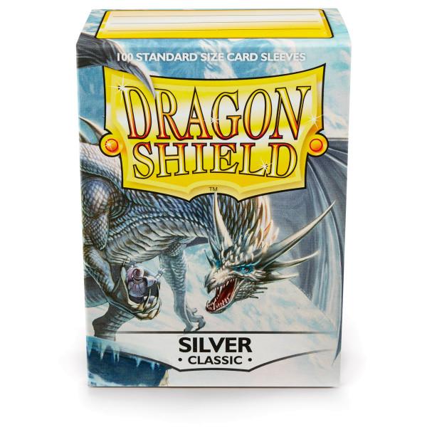 Dragon Shield: Silber (100 Stück)