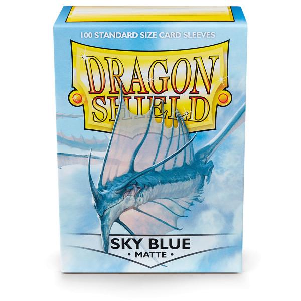 Dragon Shield Matte: Himmelblau (100 Stück)