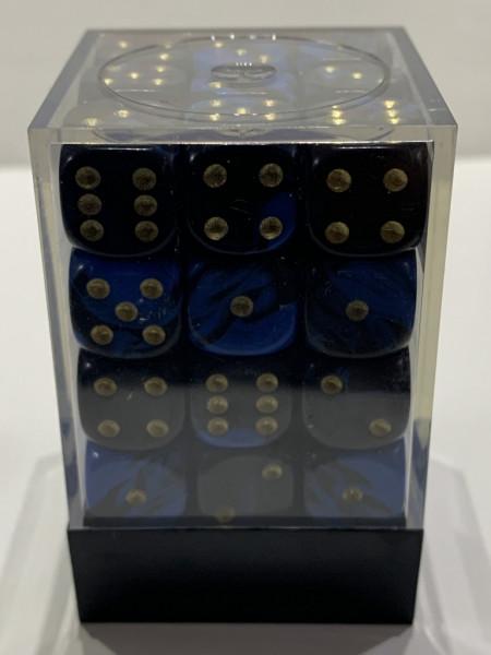 Pegasus Würfel - Oblivion: Blau (36er-Set in Acrylbox)