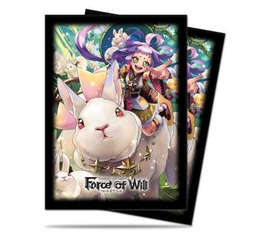 A4: Kaguya Standard Deck Protectors for Force of Will 65ct