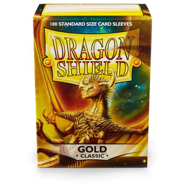 Dragon Shield: Gold (100 Stück)