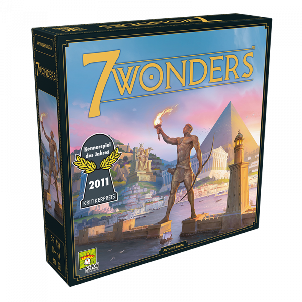 7 Wonders (neues Design) • Grundspiel DE