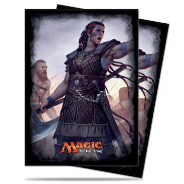 Commander 2016 Standard Deck Protector, Saskia the Unyielding, for Magic 120ct