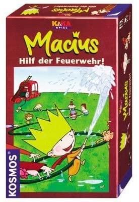 Macius hilf der Feuerwehr