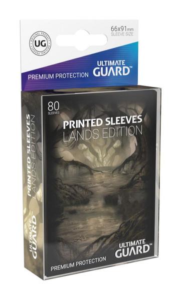 Ultimate Guard Printed Sleeves Standardgröße Lands Edition Sumpf I (80)
