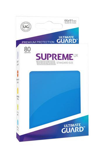 Ultimate Guard Supreme UX Sleeves Standardgröße Königsblau (80)