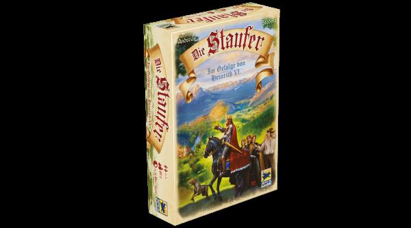 Die Staufer , Mängelexemplar Folie Eingerissen