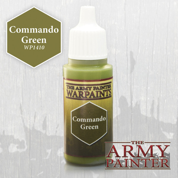 Army Painter Paint: Commando Green