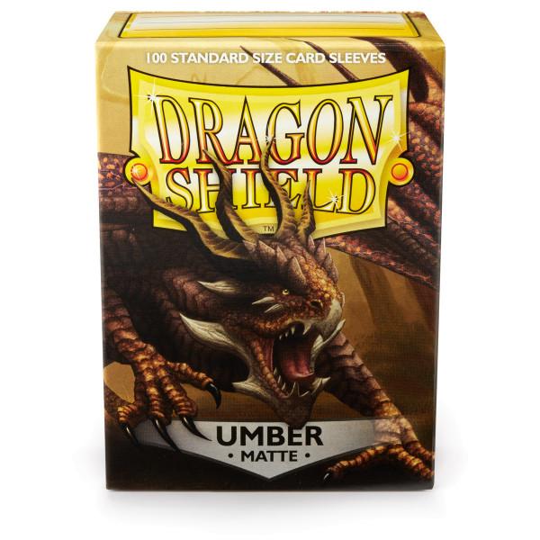 Dragon Shield: Matte Umber (100)