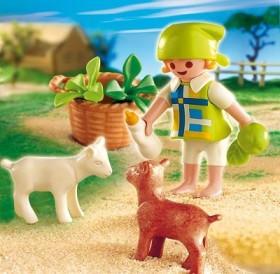 Playmobil 4674 - Special Mädchen mit Zicklein