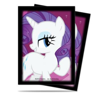 My Little Pony Deck Protector Sleeves - Rarity 65ct