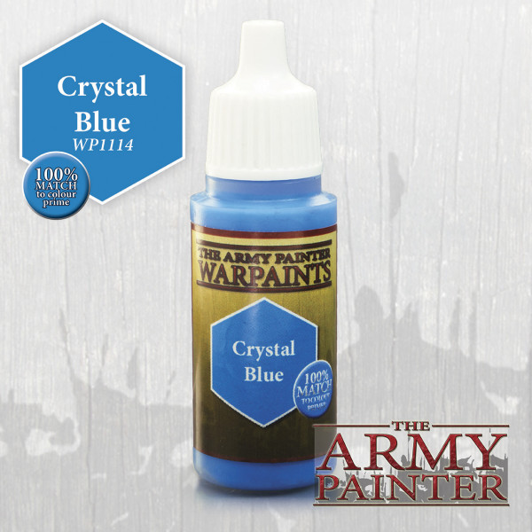 Army Painter Paint: Crystal Blue