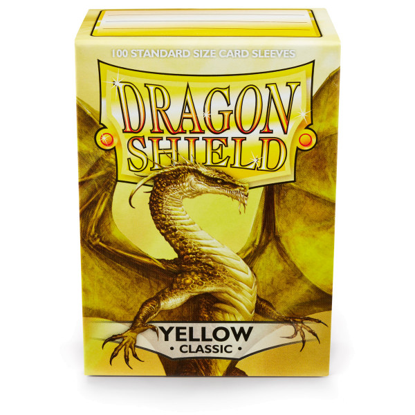 Dragon Shield: Yellow (100 Stück)