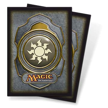 Mana v3 White Standard Deck Protectors for Magic 80ct