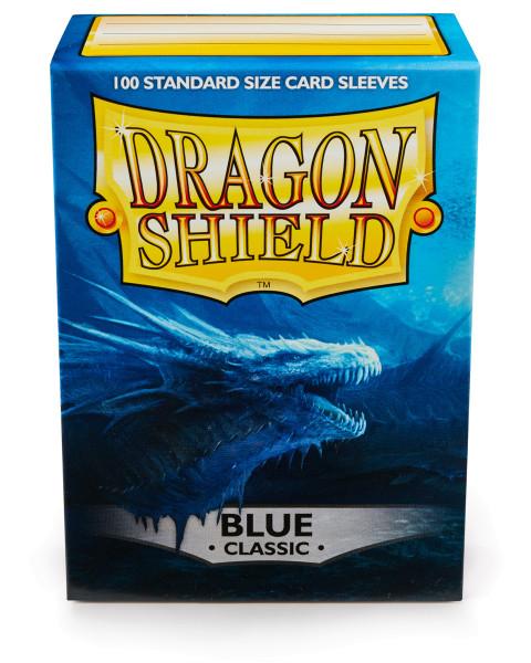 Dragon Shield: Blau (100 Stück)