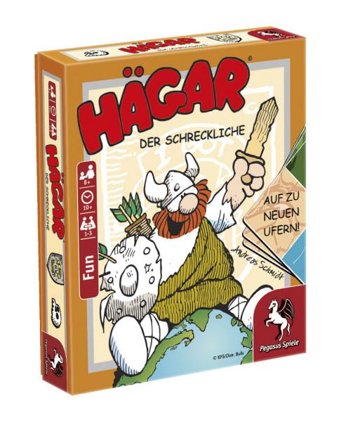 Hägar - Der Schreckliche: Auf zu neuen Ufern! (Bierdeckelspiel)