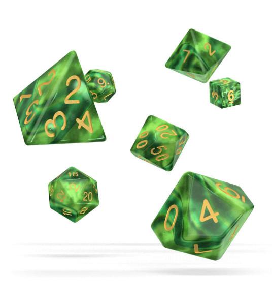 oakie doakie DICE RPG Set Gemidice - Jungle (7)