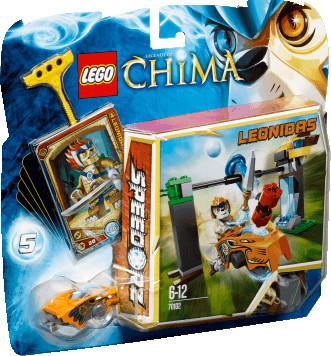 LEGO Legends of Chima - Speedorz Chi-Wasserfall (70102)