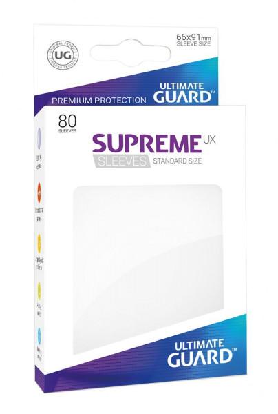 Ultimate Guard Supreme UX Sleeves Standardgröße Weiß (80)