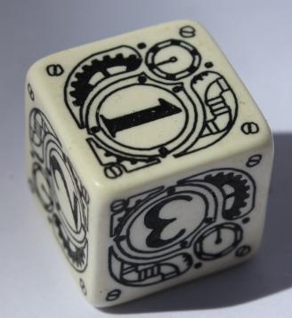 W6 Steampunk Weiß & schwarz