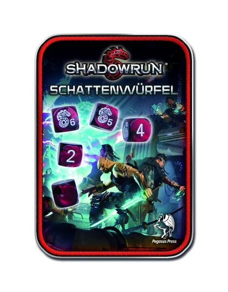 Würfelset: Shadowrun (neue Version: rot)