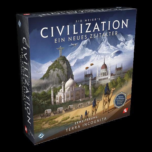 Civilization: Ein neues Zeitalter - Terra Incognita • Erweiterung DE