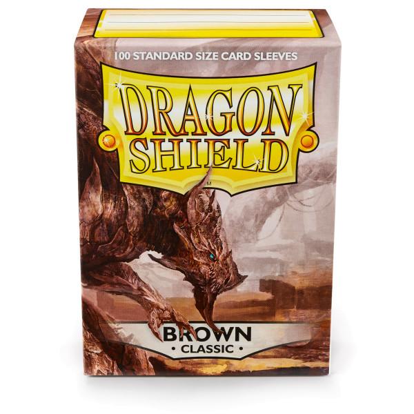 Dragon Shield: Braun (100 Stück)
