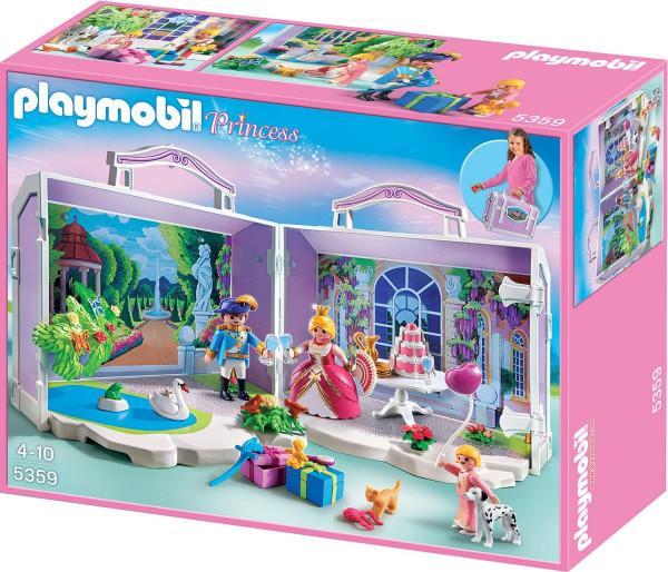 Playmobil 5359 - Mein Mitnehm-Köfferchen – Prinzessinnen-Geburtstag