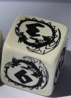 W6 Dragons White & black