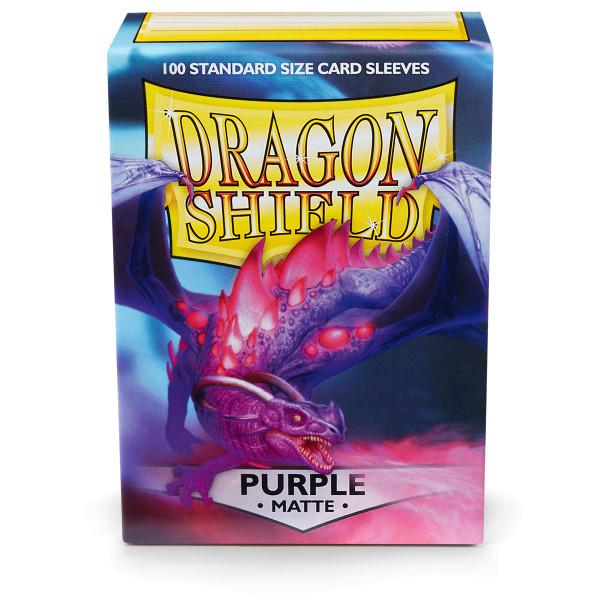 Dragon Shield Matte: Lila (100 Stück)