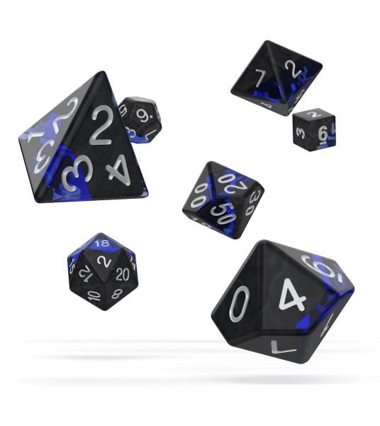oakie doakie DICE RPG Set Enclave - Sapphire (7)